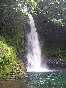Malabsay Falls in Naga City, Philippines